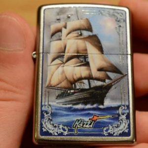 Zippo 28425 - Zippo Mazzi Ship Street Chrome 4