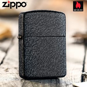 Zippo 28582 - Zippo 1941 Replica Black Crackle Lighter 4