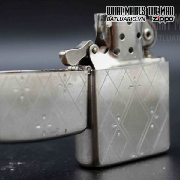 zippo xưa 1952 1954 silver filled 4