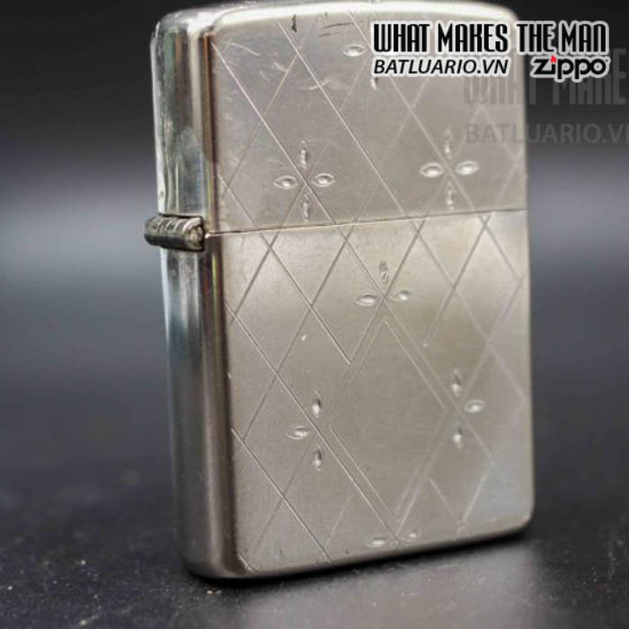 zippo xưa 1952 1954 silver filled 5