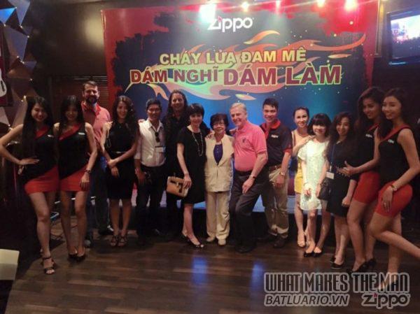 Đại Gia Đình Công Ty Zippo Việt Nam trong Event Zippo DÁM NGHĨ DÁM LÀM - CHÁY LỬA ĐAM MÊ
