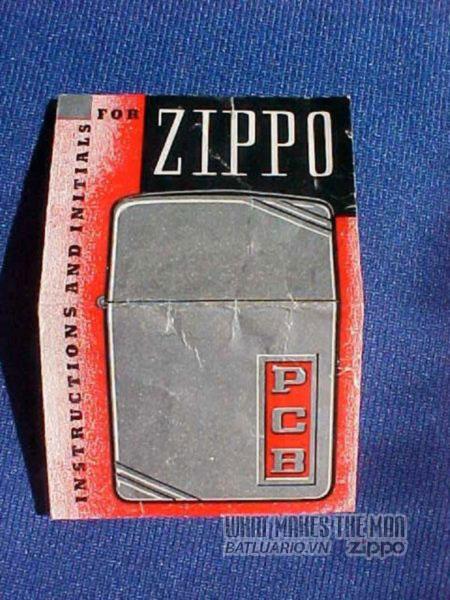 giấy hướng dẫn sử dụng zippo đầu năm 1938 6