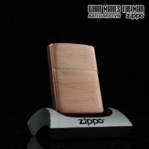 ZIPPO 2007 – SOLID COPPER – ĐỒNG ĐỎ NGUYÊN KHỐI 5