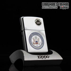 ZIPPO LA MÃ 1995 – THE UNITED STATES OF AMERICA