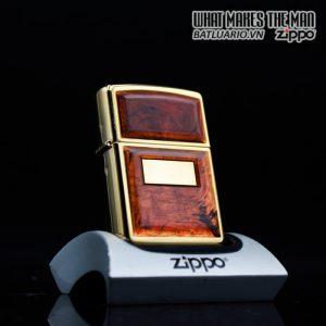 ZIPPO LA MÃ 1996 – GOLDEN TORTOISE – MẠ VÀNG 22K