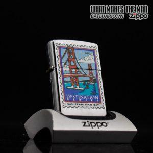 ZIPPO LA MÃ 2000 – DESYINATION ( BỘ TEM ) – SAN FRANCISCO BAY