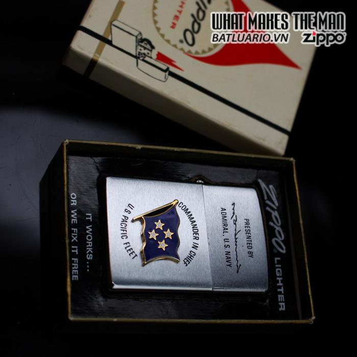 ZIPPO XƯA 1973 – ADMIRAL US NAVY – COMMANDER IN CHIEF US PACIFIC FLEET 1