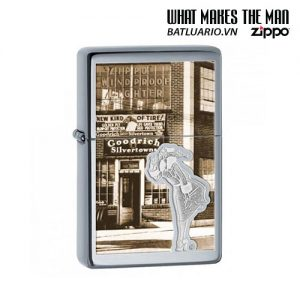 Zippo 28538 - Zippo Vintage Windy Windproof High Polished Chrome