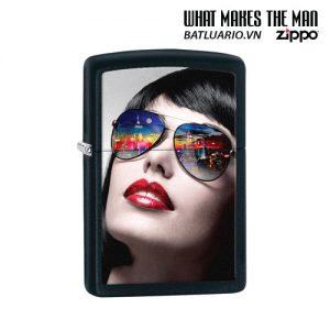 Zippo 29090 - Zippo Reflective Sunglasses Black Matte