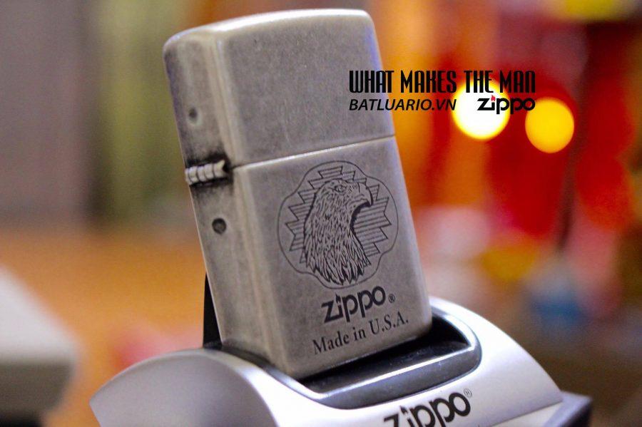 ZIPPO 121FB EAGLE HEAD 1