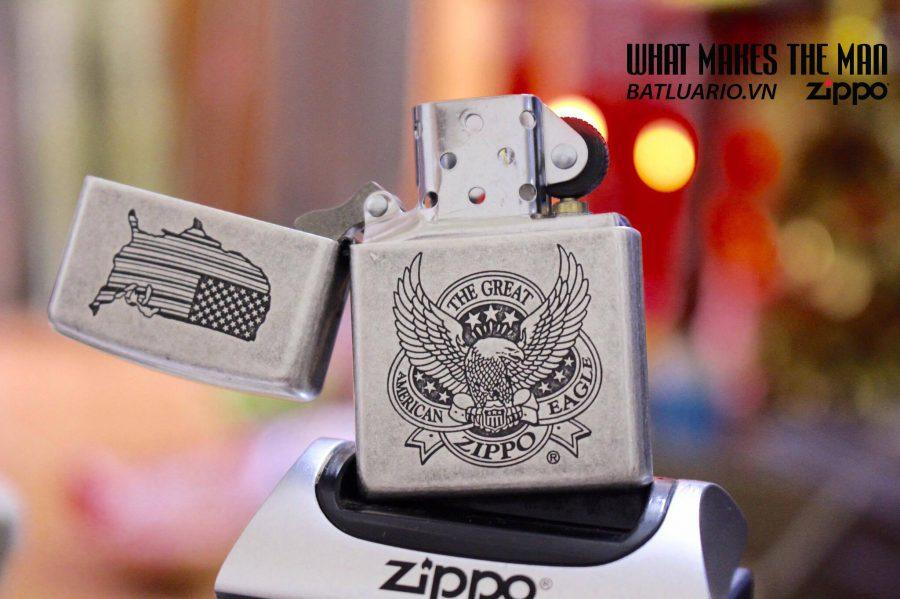 ZIPPO 121FB THE GREAT AM EAGLE 2016 1