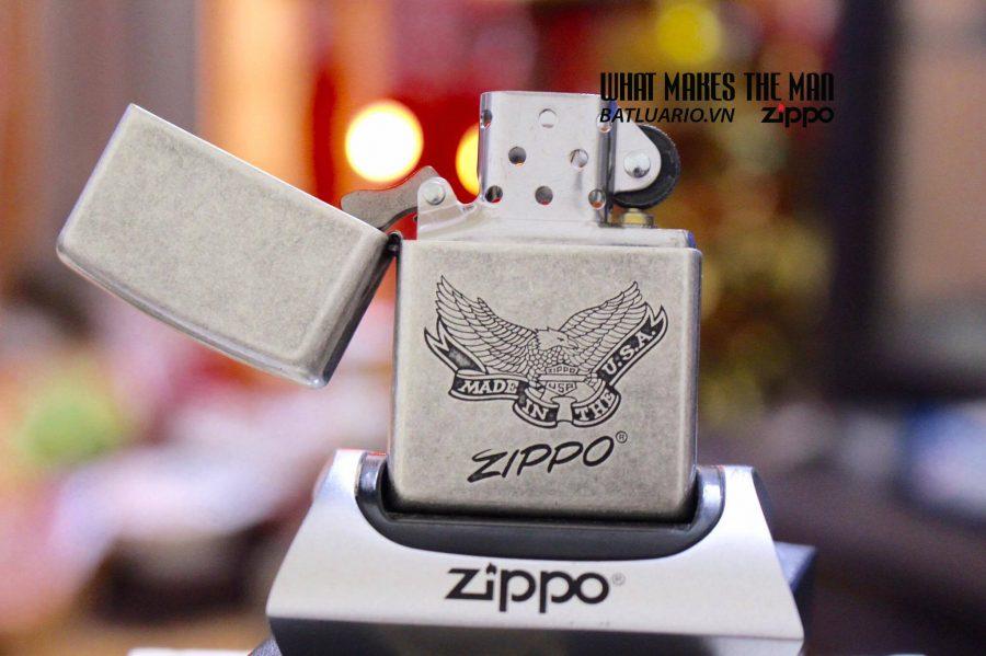 ZIPPO 121FB ZIPPO EAGLE MADE IN THE USA 1