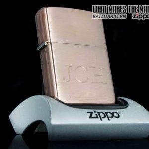 ZIPPO 2002 – SOLID COPPER – JCH