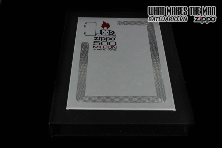 ZIPPO 2012 – 500 MILLION LIMITED EDITION – LIMITED 3411 1
