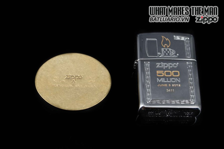 ZIPPO 2012 – 500 MILLION LIMITED EDITION – LIMITED 3411 4