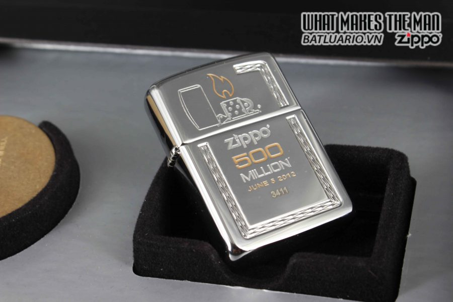 ZIPPO 2012 – 500 MILLION LIMITED EDITION – LIMITED 3411 8