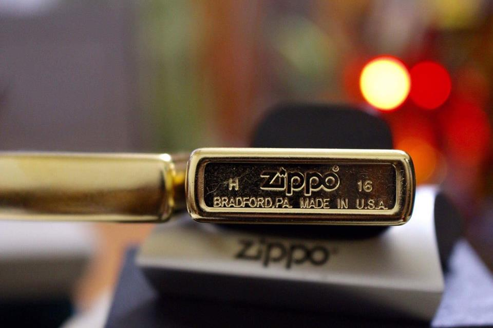 ZIPPO 207G FLOWER DESIGN 3