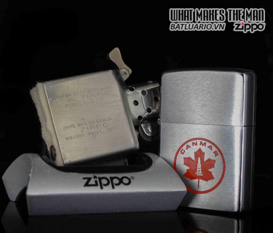 ZIPPO CANADA 1970S - CANMAR 3