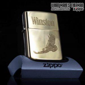 ZIPPO CHU NIÊN 1932 – 1992 – WINSTON – SOLID BRASS
