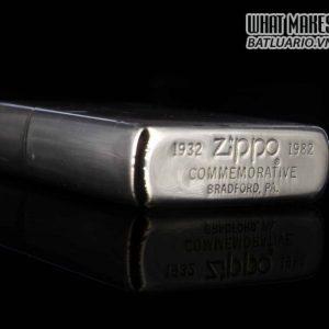 ZIPPO COMMEMORATIVE 1932-1982 – 50TH ANNIVERSARY – KỶ NIÊM 50 NĂM THÀNH LẬP HÃNG ZIPPO 6