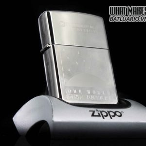 ZIPPO COTY 1999 – ONE WORLD – ONE FUTURE (OUR CENTURY COMPANION PIECE)