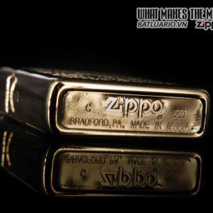 ZIPPO LA MÃ 1996 – MẠ VÀNG 22K – CAMEL GOLD PLATE 22K 7