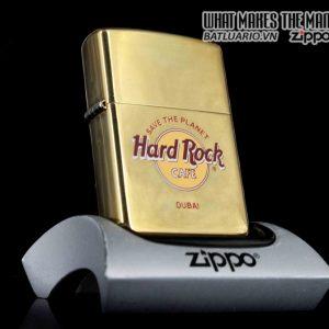 ZIPPO LA MÃ 1999 – ĐỒNG NGUYÊN KHỐI – CAFE HARD ROCK – DUBAI