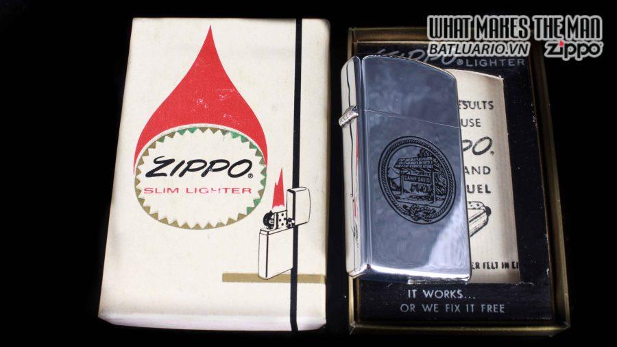 ZIPPO SLIM 1975 – CAMP DAVID 1