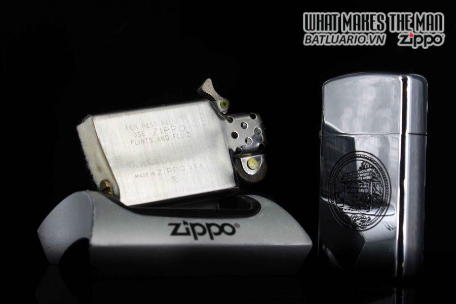 ZIPPO SLIM 1975 – CAMP DAVID 2