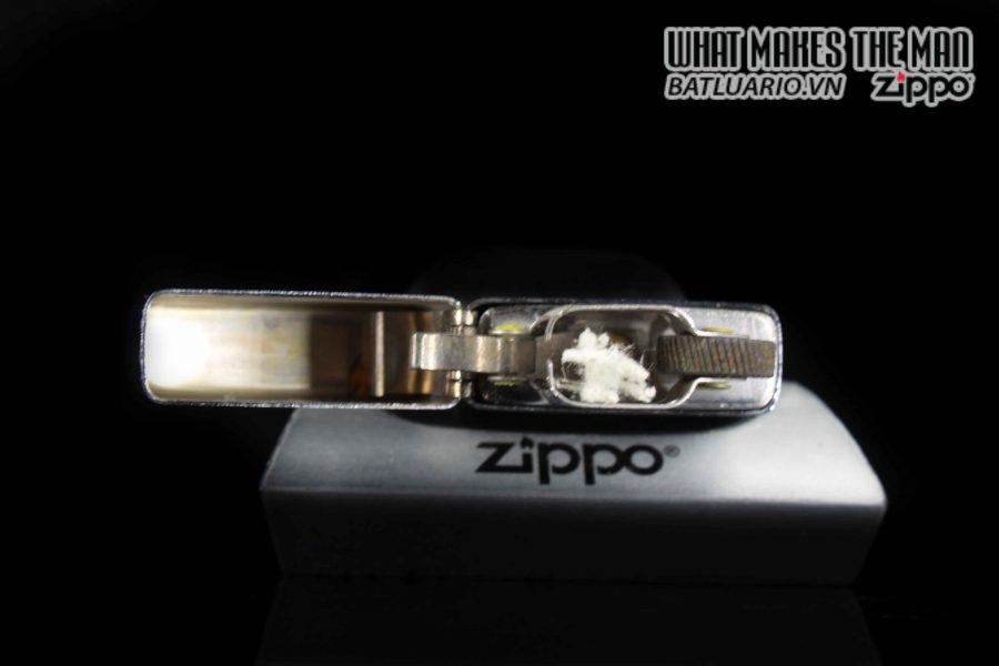 ZIPPO SLIM 1975 – CAMP DAVID 5