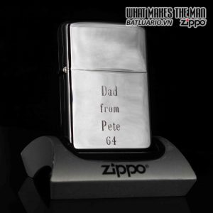 ZIPPO XƯA 1962 – DAD FROM PETE 64