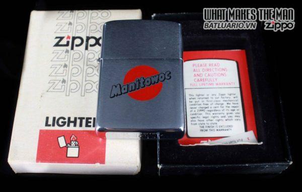 ZIPPO XƯA 1981 – MANITOWOC 1