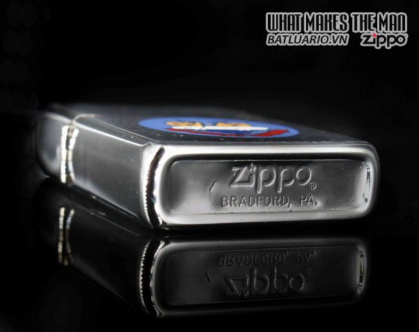 ZIPPO XƯA 1981 – USS CORAL SEA CV 43 – PRESENTED BY COMMANDING OFFICER CAPTIAN J.L JOHNSON 3