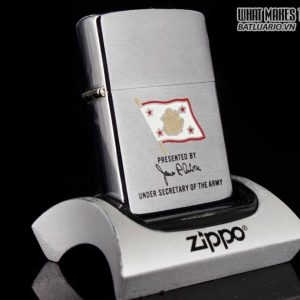 ZIPPO 1984 – PRESENTED BY UNDER SECRETARY OF THE ARMY