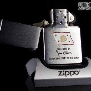 ZIPPO 1984 – PRESENTED BY UNDER SECRETARY OF THE ARMY 9