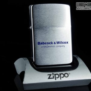 ZIPPO 1986 – BABCOCK & WILCOX