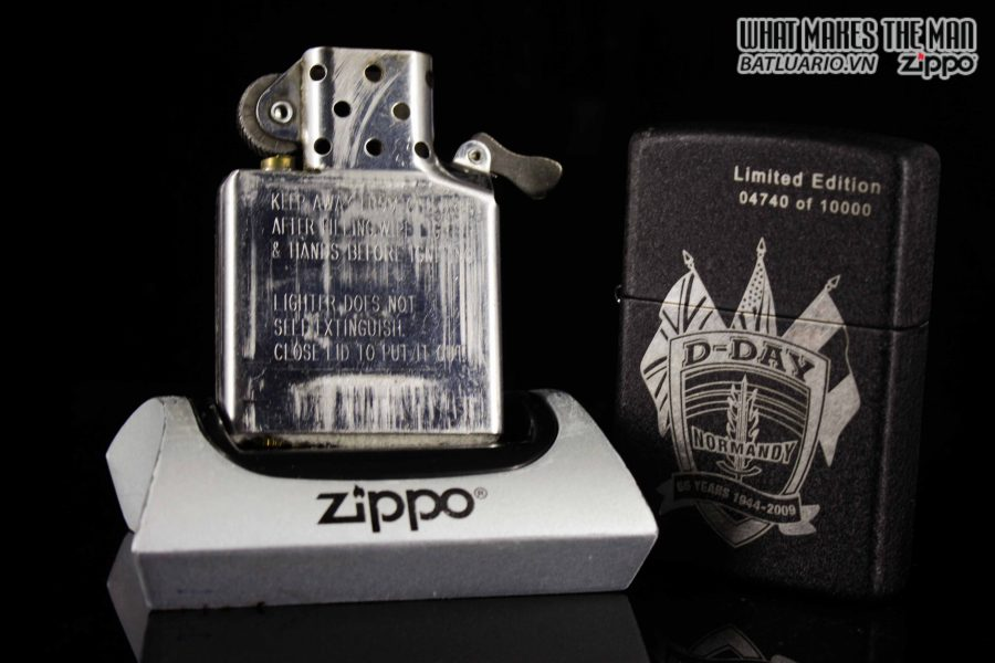 ZIPPO 2009 – D-DAY 65TH ANNIVERSARY COMMEMORATIVE LIGHTER – SANDS OF NORMANDY 2