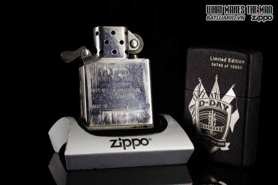 ZIPPO 2009 – D-DAY 65TH ANNIVERSARY COMMEMORATIVE LIGHTER – SANDS OF NORMANDY 3