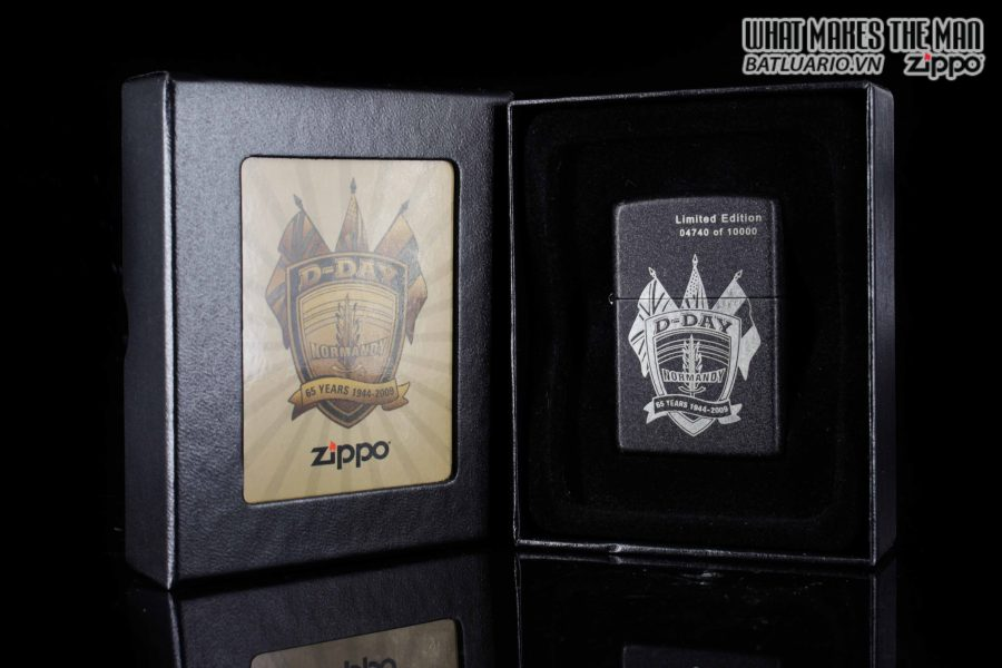 ZIPPO 2009 – D-DAY 65TH ANNIVERSARY COMMEMORATIVE LIGHTER – SANDS OF NORMANDY 7