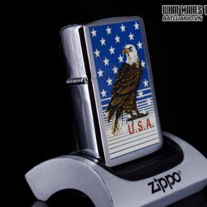 ZIPPO LA MÃ 1989 – AMERICAN EAGLE