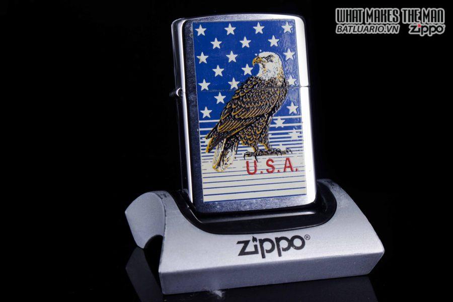 ZIPPO LA MÃ 1989 – AMERICAN EAGLE 5