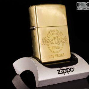 ZIPPO LA MÃ 1995 – ĐỒNG NGUYÊN KHỐI – HARD ROCK – LAS VEGAS