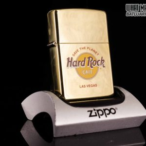 ZIPPO LA MÃ 1995 – HARD ROCK – ĐỒNG NGUYÊN KHỐI – LAS VEGAS