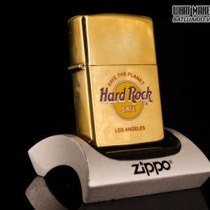 ZIPPO LA MÃ 1996 – ĐỒNG NGUYÊN KHỐI – CAFE HARD ROCK – LOS ANGELES