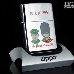 ZIPPO LA MÃ 1997 – HONG KONG RETURNED TO CHINA – JUL 01, 1997