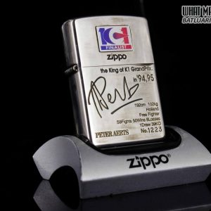 ZIPPO LA MÃ 1997 – K-1 GRAND PRIX – PETER AERTS