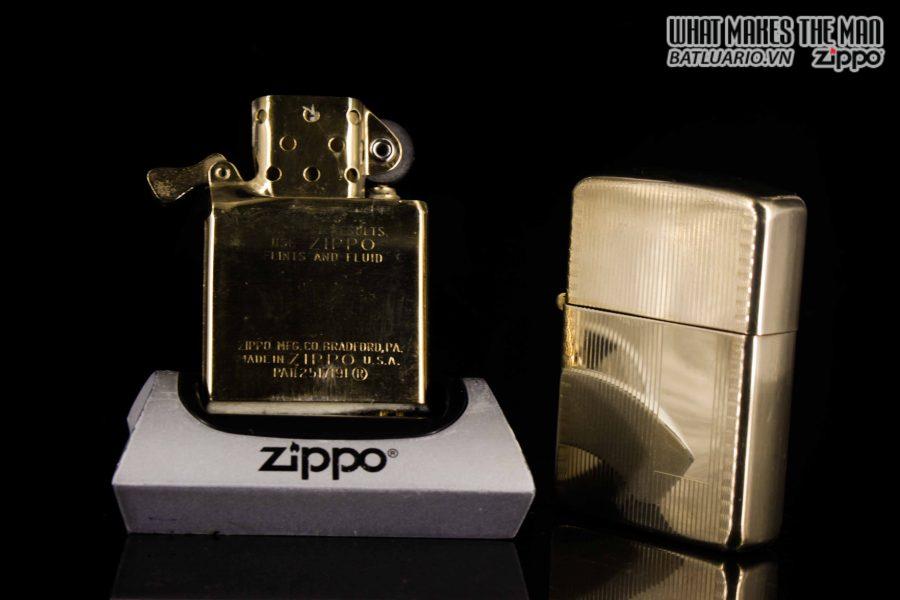 ZIPPO XƯA 1950S – BỌC VÀNG 10K – 10K GOLD FILLED 3