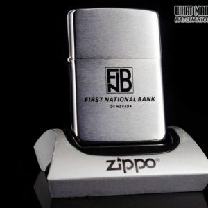 ZIPPO XƯA 1971 - FIRST NATIONAL BANK OF NEVADA