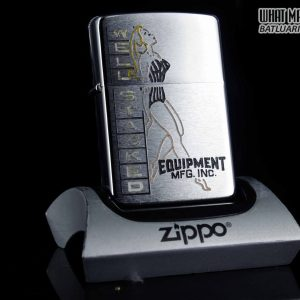 ZIPPO XƯA 1973 – WELL STACKED EQUIPMENT