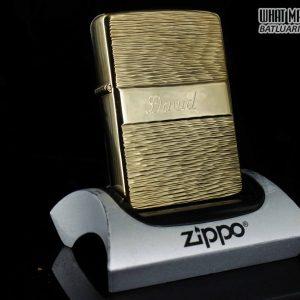ZIPPO XƯA 1976 – GOLD PLATE GOLDEN ELEGANCE – MẠ VÀNG 22K